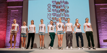 Facebook fans of the Fashion AID project organized a flash mob in Kiev: dance for safe sex / Elena Pinchuk Foundation