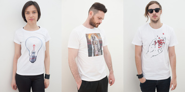 A capsule collection of t-shirts zmist&forma / Elena Pinchuk Foundation